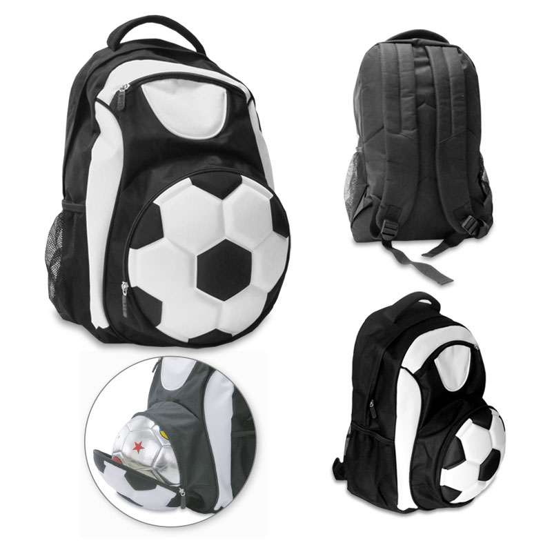 Morral Backpack Soccer Ball